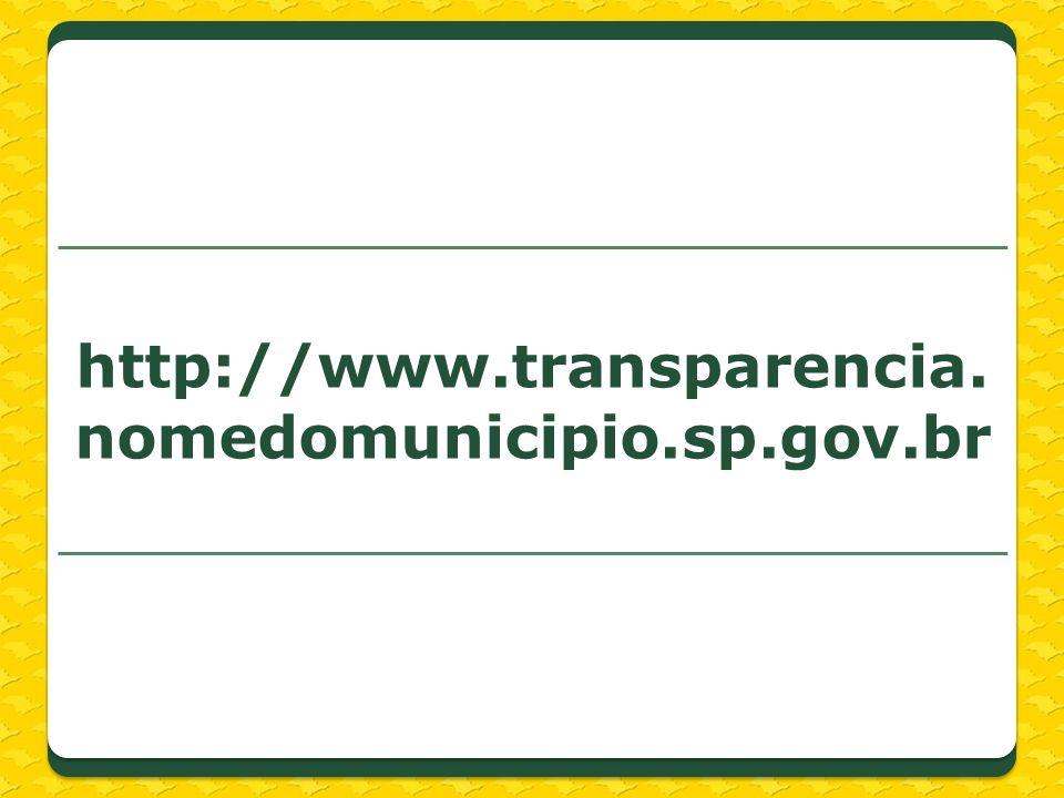 Receitas e Despesas Série histórica a partir de 2008 http://www.portaldocidadao.tce.sp.gov.br/roteador_orgao_id/receitas/