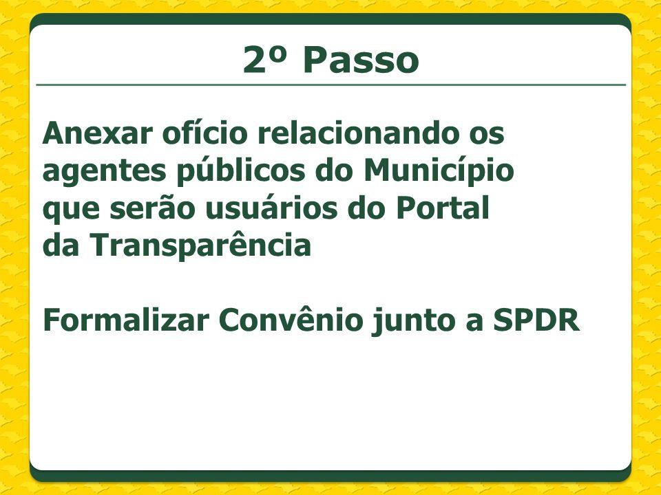 3º passo Enviar através do endereço: prefeitura@prodesp.sp.gov.br, os seguintes arquivos e informações: a)Identificação b)Brasão Oficial c)Banner