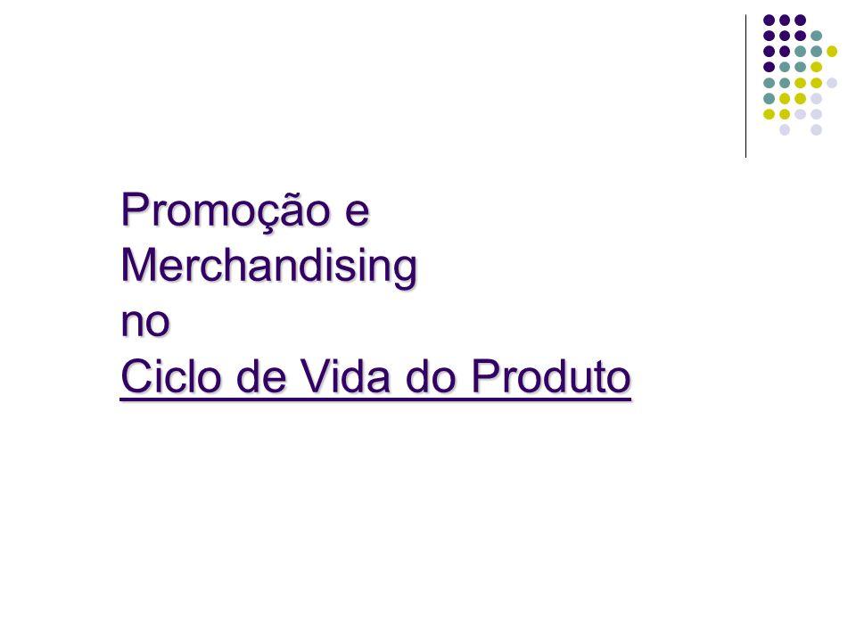 Promoção e Merchandising no Ciclo de Vida do Produto