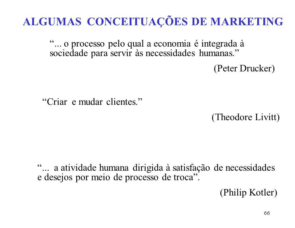 67 MARKETING COMO FUNÇÃO GERENCIAL E COMO PROCESSO SOCIAL Demanda e oferta são heterogêneas.