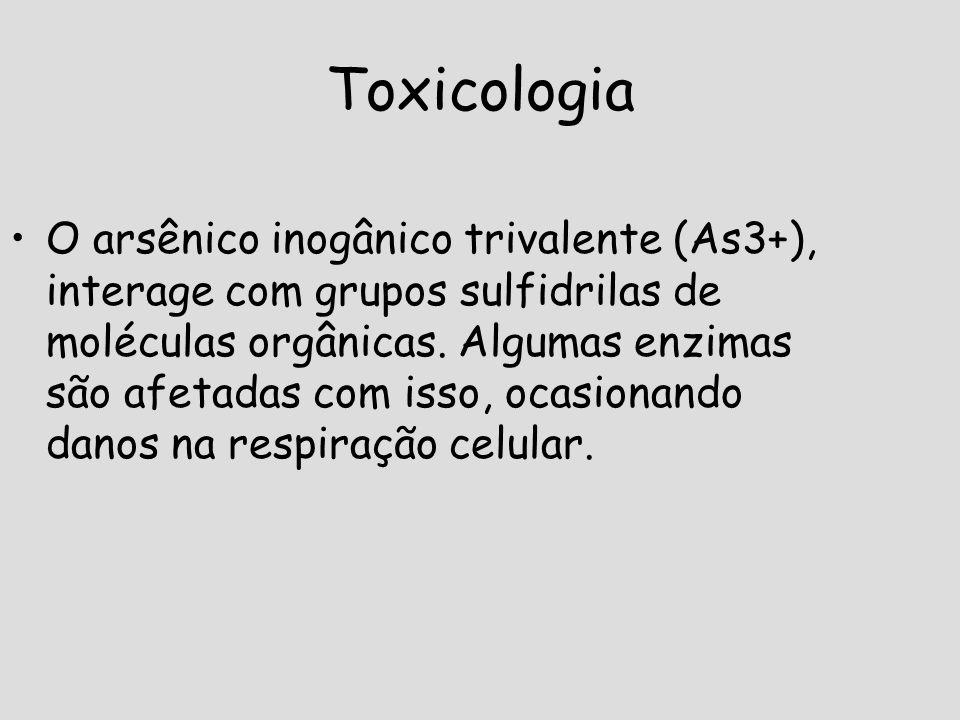 Papel Biológico Ainda que o arsênio se associe com a morte, é um elemento químico essencial para a vida e sua deficiência pode gerar diversas complicações.