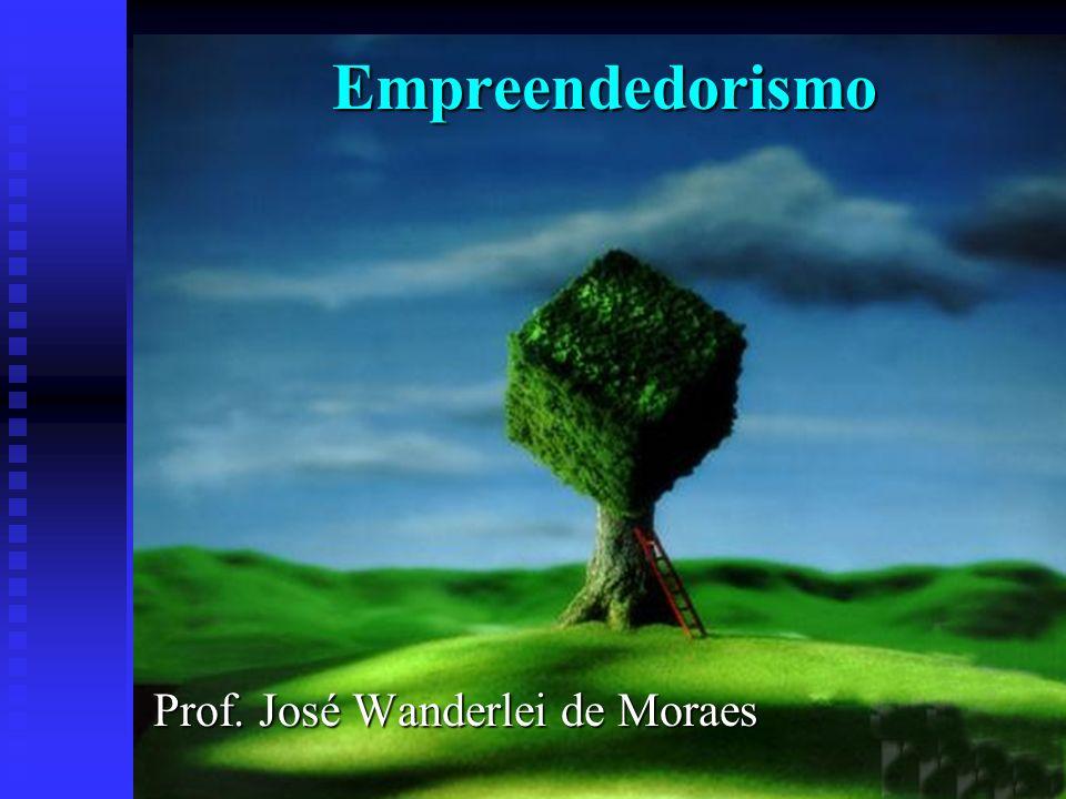 Empreendedorismo Prof. José Wanderlei de Moraes