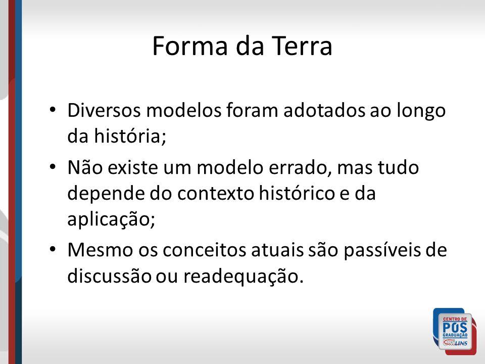 Atualmente no Brasil, existem 3 Sistemas de referência em uso: – SIRGAS – SAD 69 – Córrego Alegre Para o Sistema Geodésico Brasileiro (SGB) existem apenas dois: SIRGAS e SAD 69.