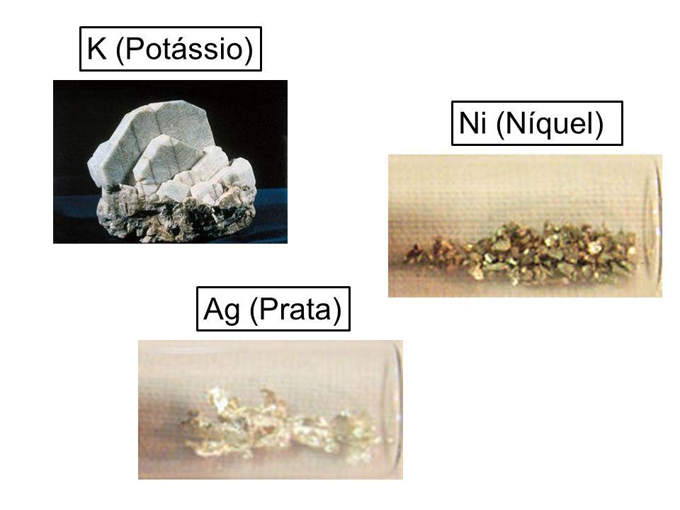 Propriedades Atômicas Massa Atômica 58,6934(2) u Raio Médio 135 (149) pm Raio Atômico Calculado 121 pm Raio Covalente 163 pm Raio de Van Der Waals [Ar]3d 8 4s 2 Configuração Eletrônica 2, 8, 16, 2 Estados de Oxidação (óxido) 2,3 ( básicos) Estrutura Cristalina Cúbica de face centrada