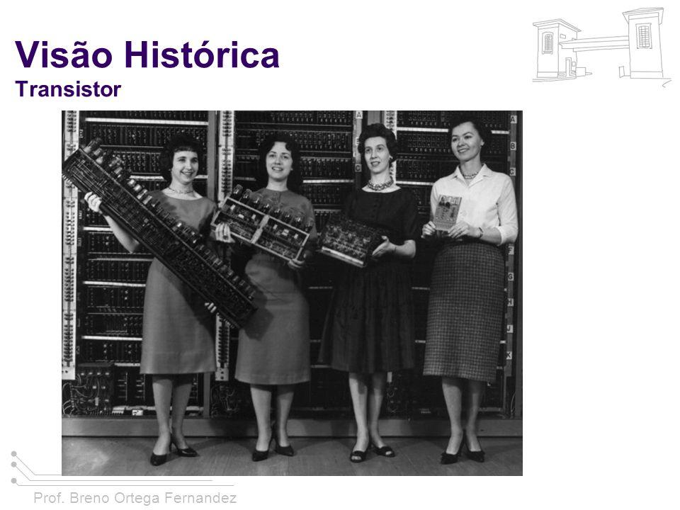 Prof. Breno Ortega Fernandez Visão Histórica Transistor