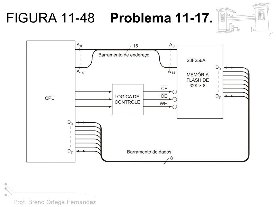 Prof. Breno Ortega Fernandez FIGURA 11-48 Problema 11-17.