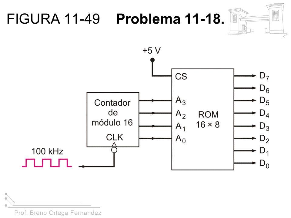 Prof. Breno Ortega Fernandez FIGURA 11-49 Problema 11-18.