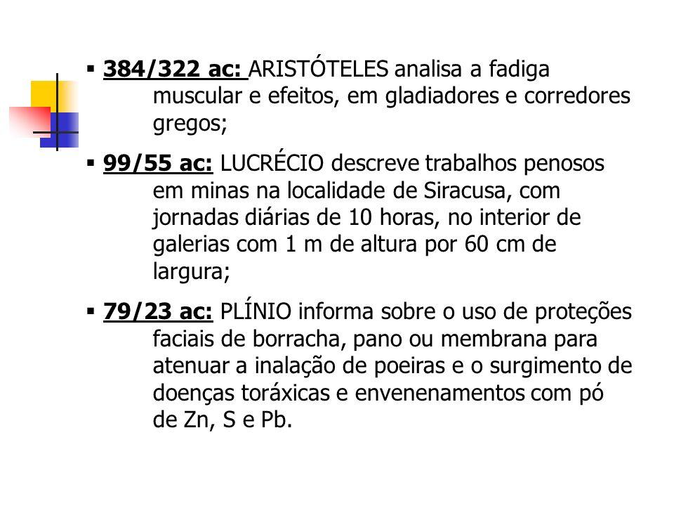 ESTUDO DAS CONDIÇÕES E DOS AMBIENTES DE TRABALHO – Segurança do Trabalho Constituição Federal: Art.