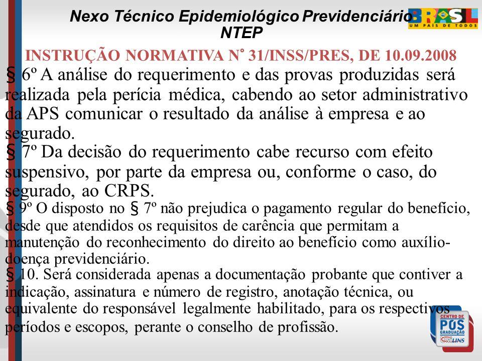 INSTRUÇÃO NORMATIVA N° 31/INSS/PRES, DE 10.09.2008 § 4º A Agência da Previdência Social-APS, mantenedora do benefício, encaminhará o requerimento e as