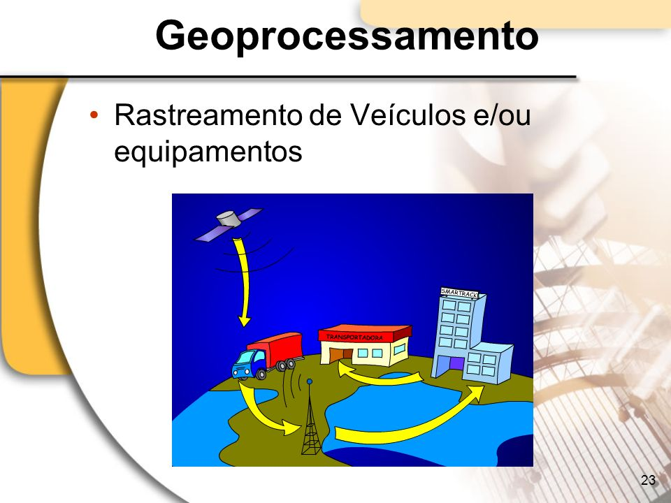 Geoprocessamento Rastreamento de Veículos e/ou equipamentos 23