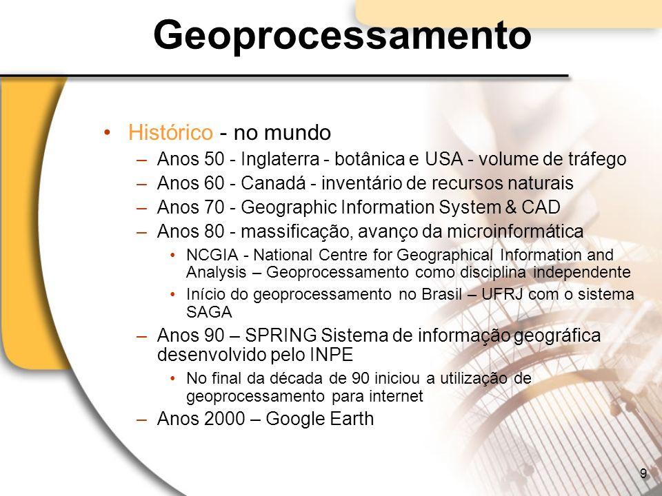 Geoprocessamento Identificação de Epidemias 30