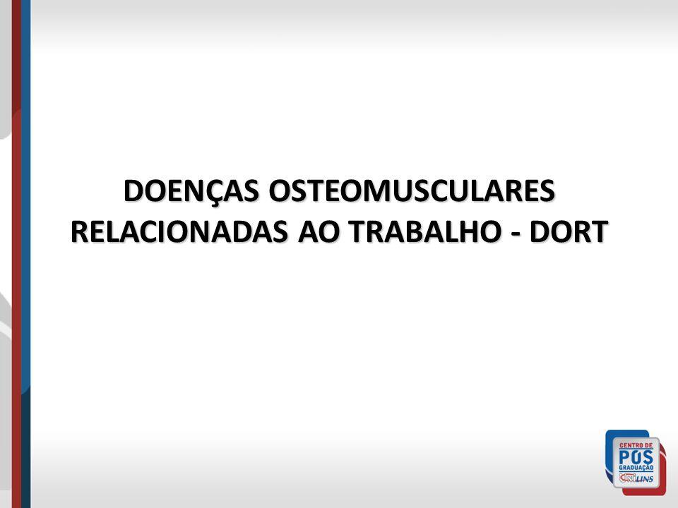 HISTÓRICO Ramazzini – Livro De Morbis Artificum Diatriba descreve os distúrbios osteomusculares realcionados ao trabalho dos escribas e notários.