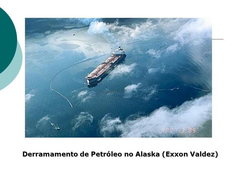 Derramamento de Petróleo no Alaska (Exxon Valdez)