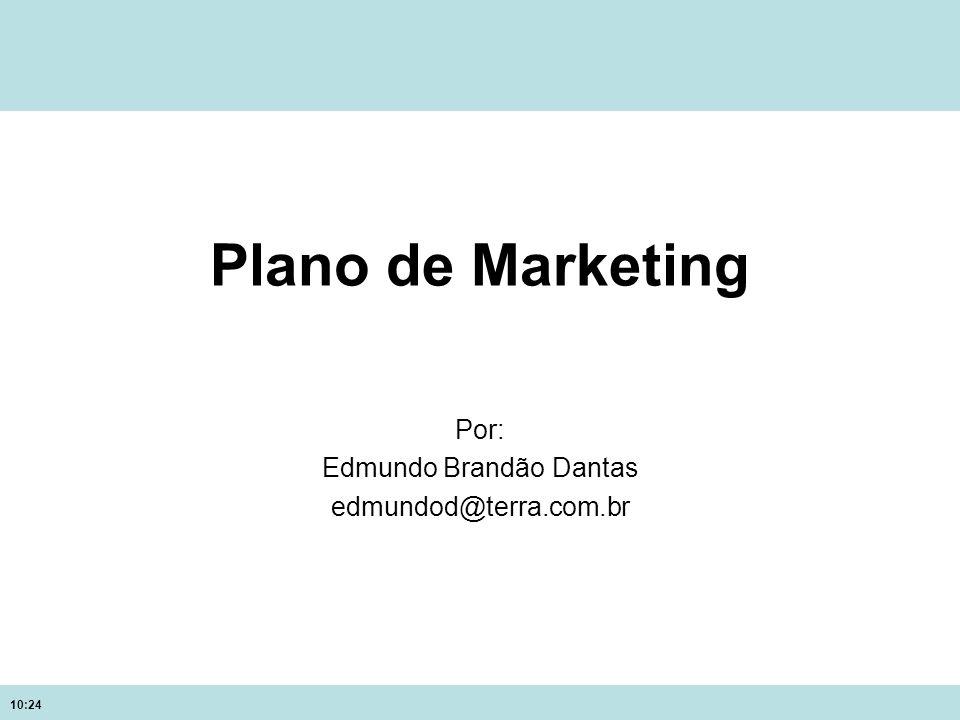 10:24 Plano de Marketing Por: Edmundo Brandão Dantas edmundod@terra.com.br