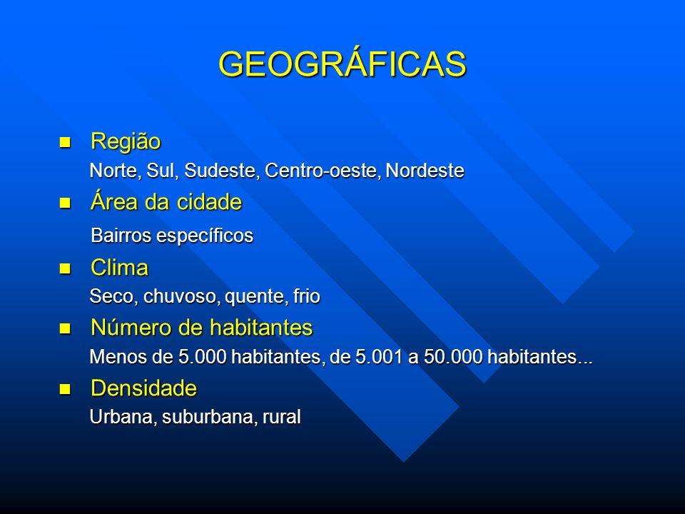Exemplo local Porcada – Rio Preto - Quintas e sextas feira, a partir das 17h.