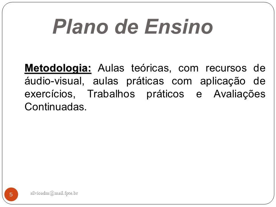 16 silvioadm@mail.fpte.br