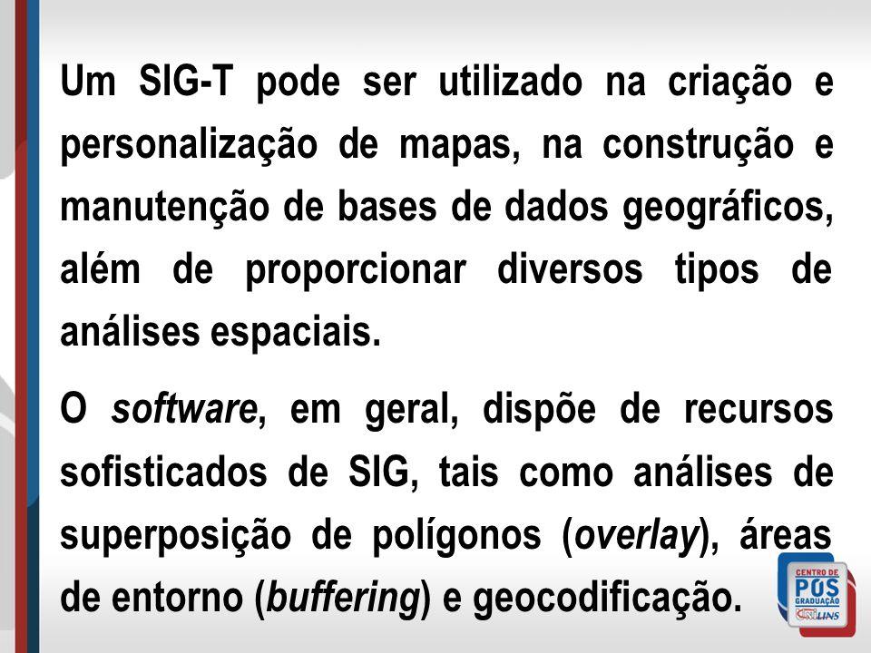 Alguns dos SIG-T, como p.ex.