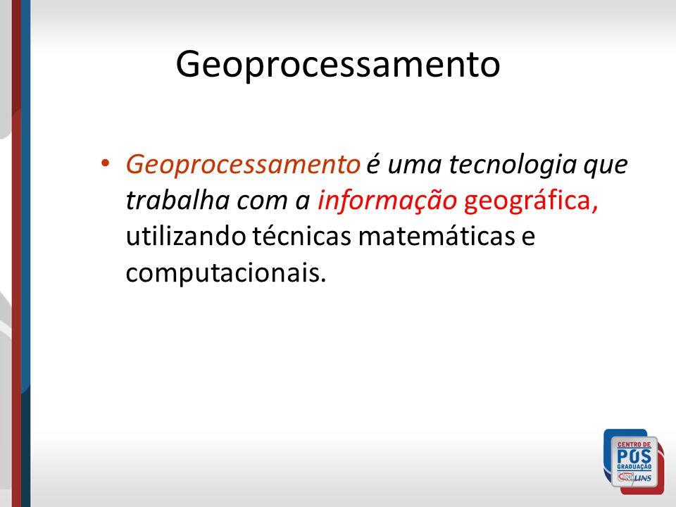 Geoprocessamento Informação Geográfica 8