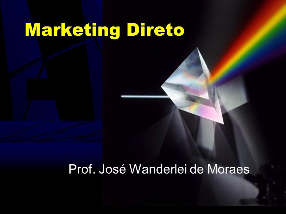 Marketing Direto Prof. José Wanderlei de Moraes