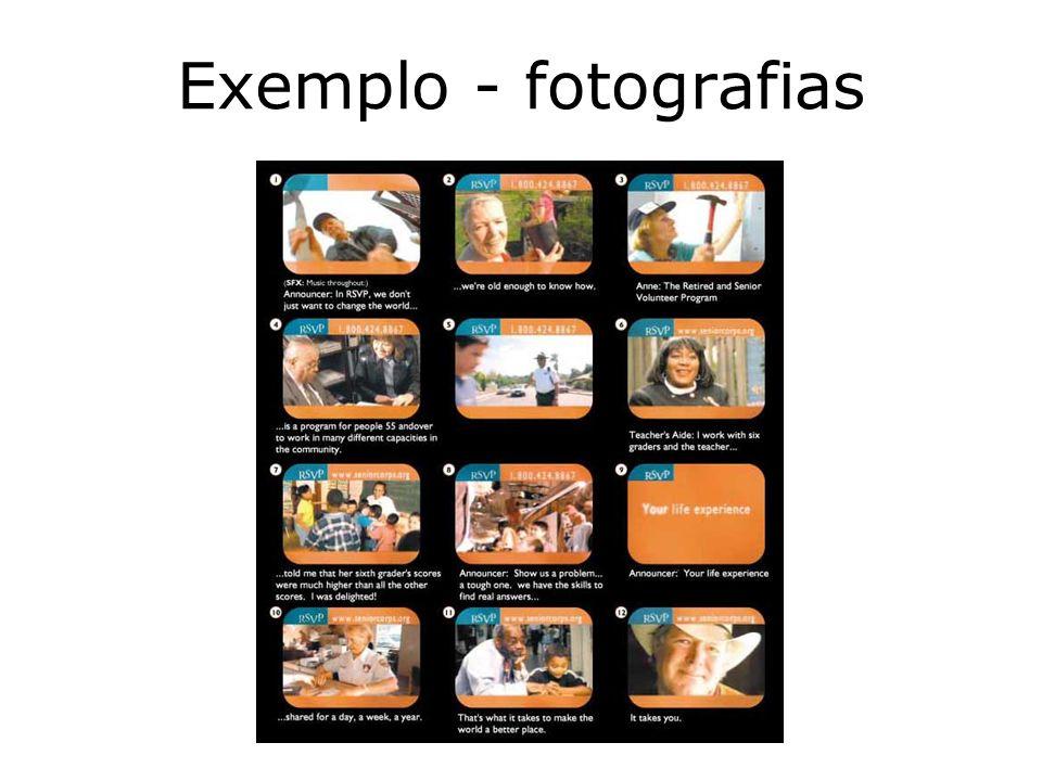 Exemplo - fotografias