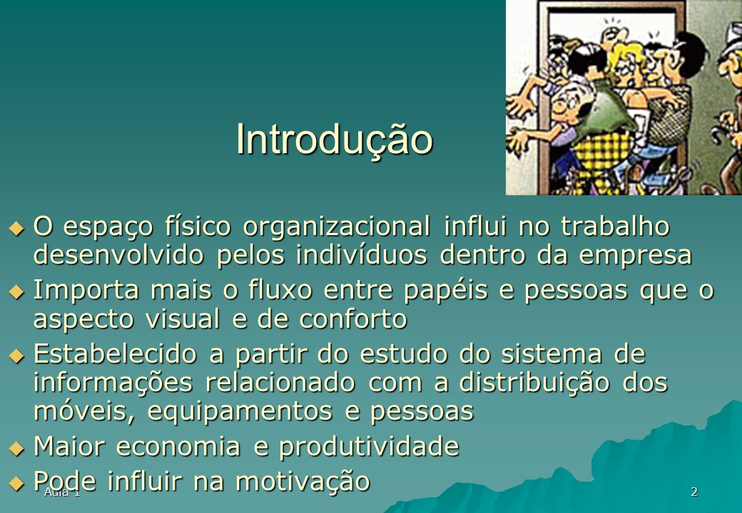 Aula 11 Arranjo físico (layout)