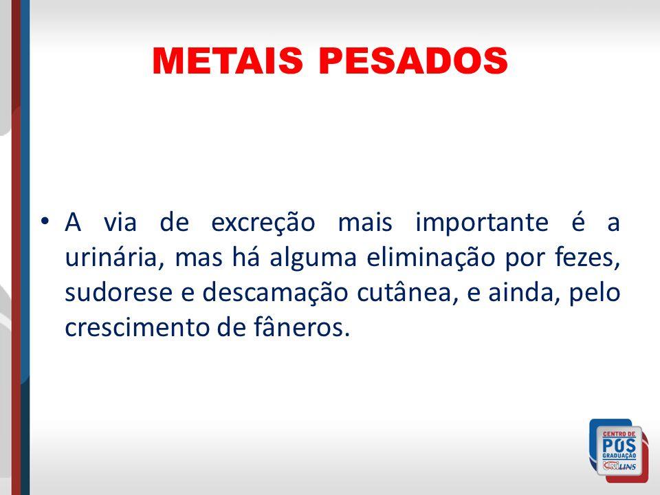 INTOXICAÇÃO PELO MANGÂNES A exposição e absorção do manganês é semelhante à do chumbo inorgânico, com a absorção de fumos e poeiras de sais e óxidos do metal.