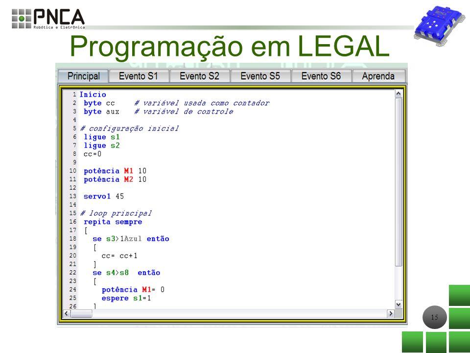 15 Programação em LEGAL