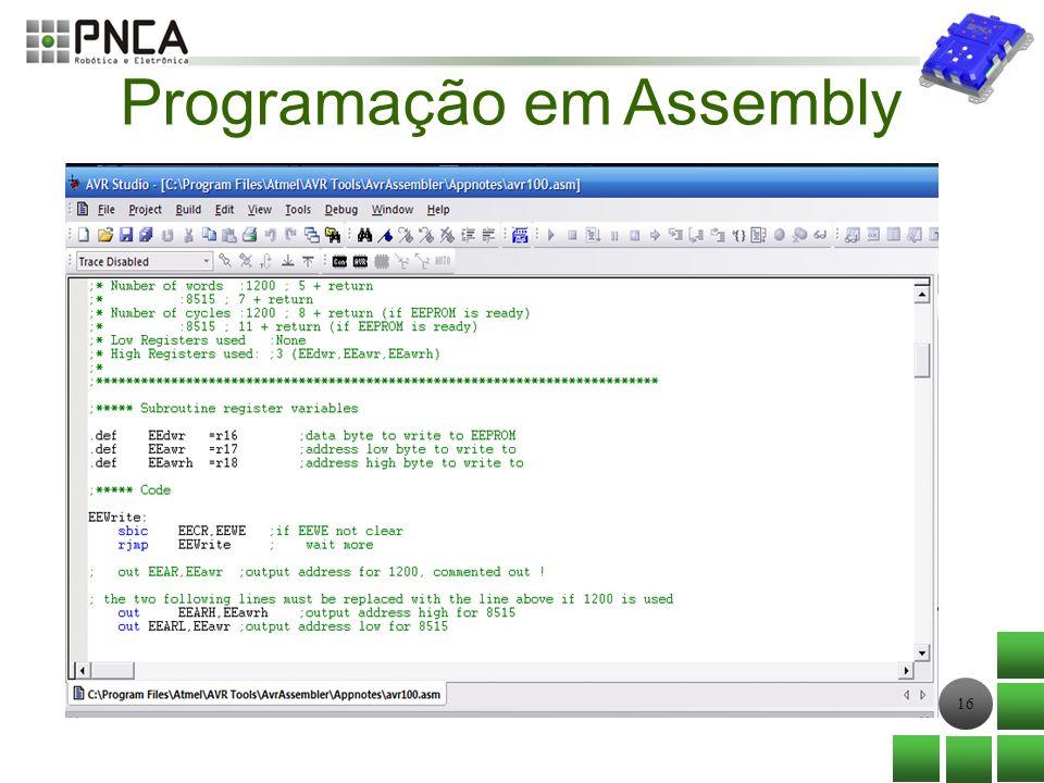 16 Programação em Assembly