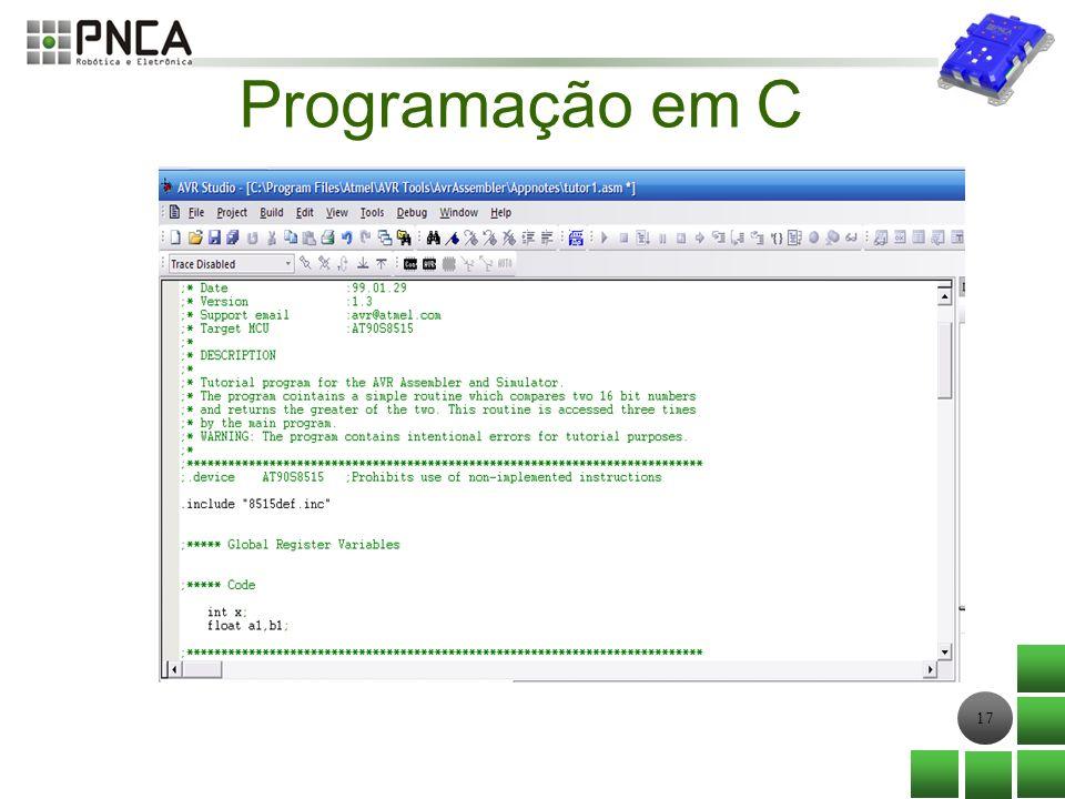 17 Programação em C