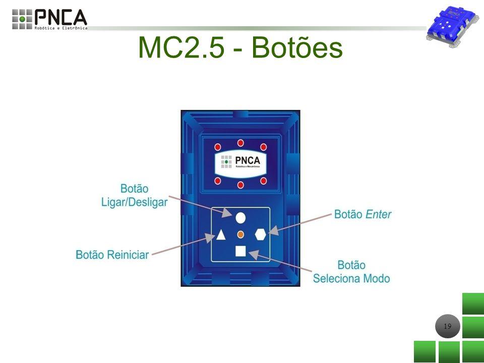 19 MC2.5 - Botões