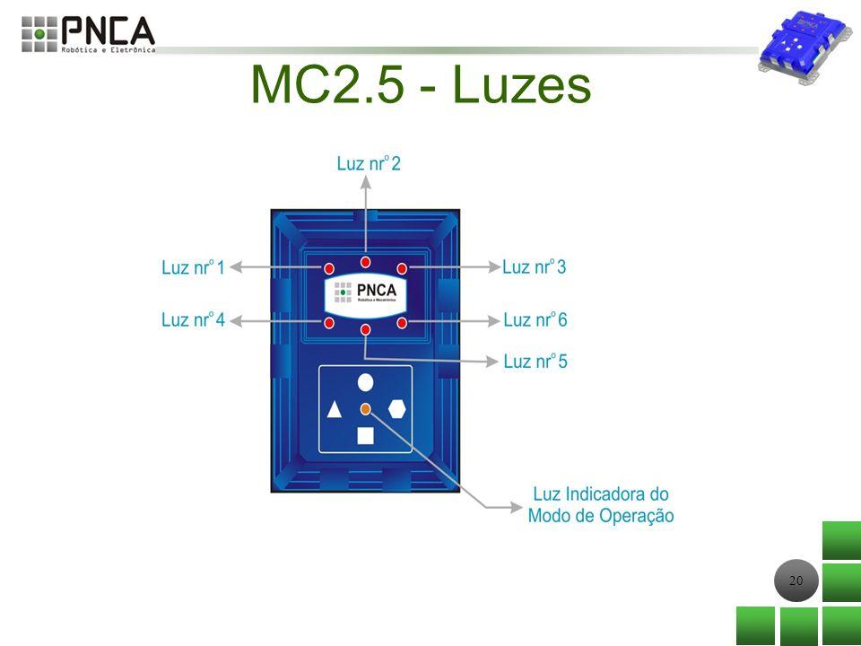 20 MC2.5 - Luzes