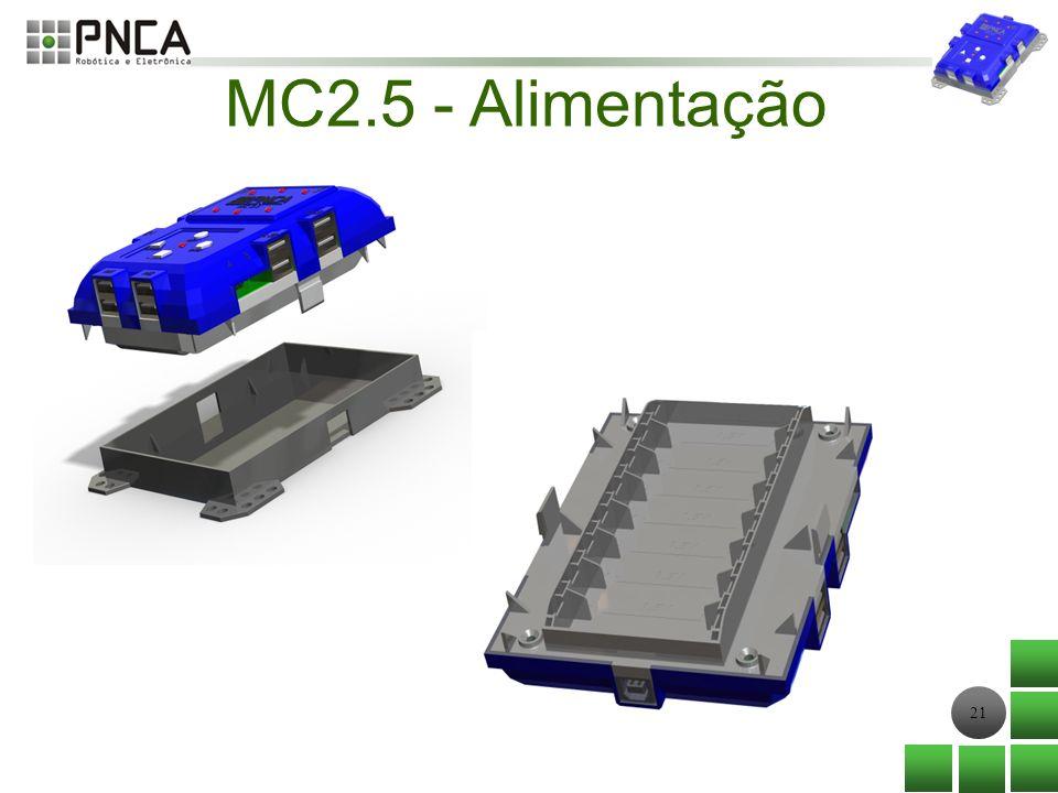 21 MC2.5 - Alimentação