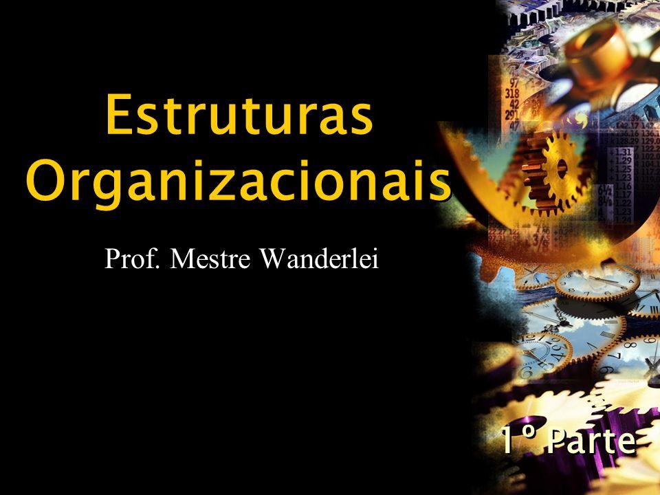 Estruturas Organizacionais Prof. Mestre Wanderlei 1º Parte