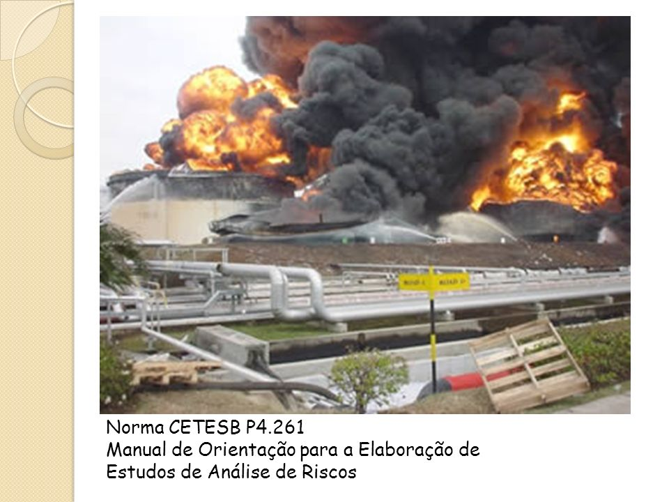 Grandes acidentes de origem tecnológica envolvendo substâncias químicas, ocorridos nas décadas de 70 e 80, motivaram a promoção de diversos programas