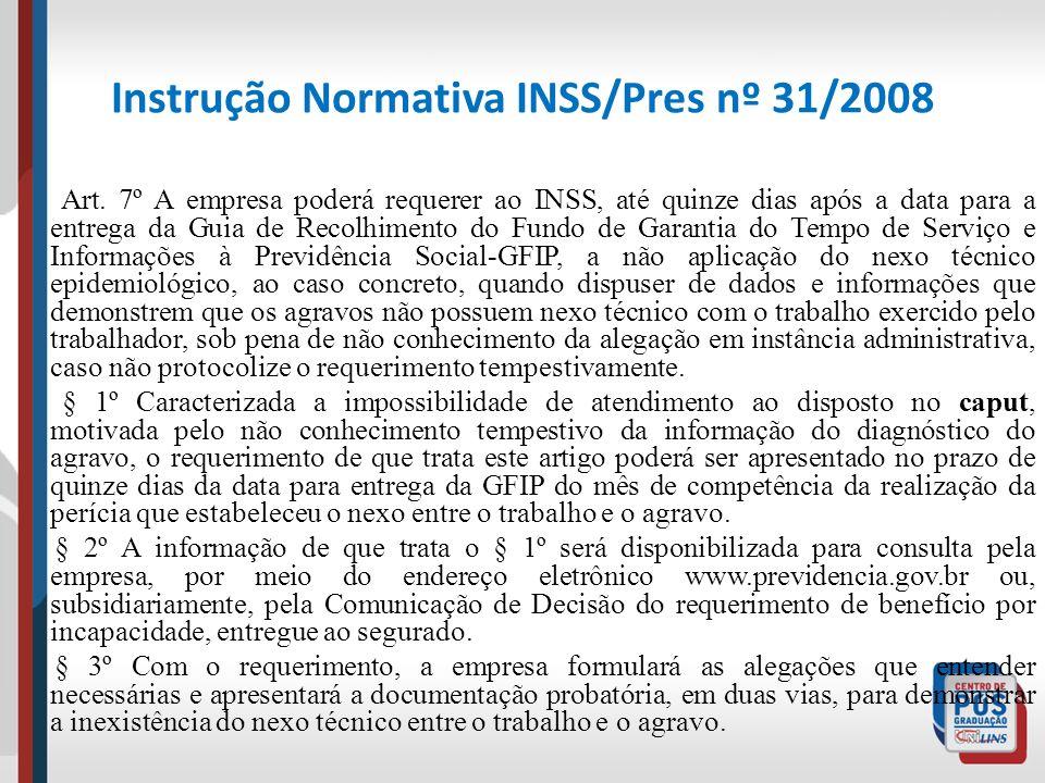 Instrução Normativa INSS/Pres nº 31/2008 Art. 7º A empresa poderá requerer ao INSS, até quinze dias após a data para a entrega da Guia de Recolhimento