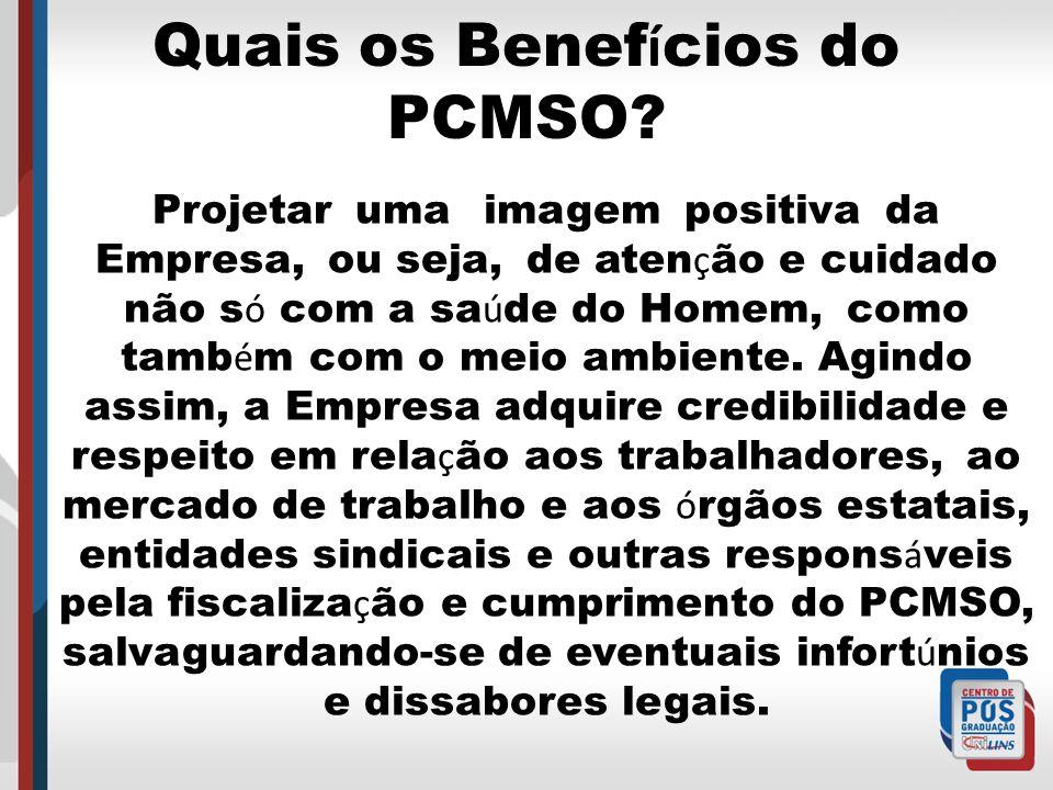 De que é composto o PCMSO.