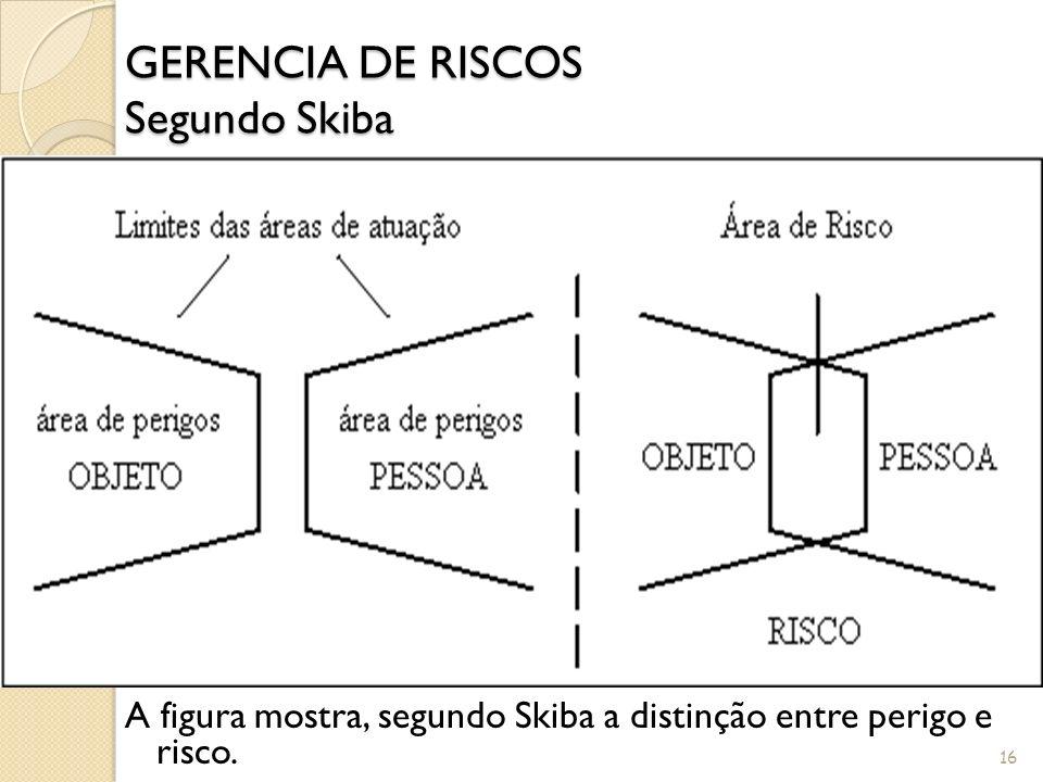 A TEORIA DOS PORTADORES DE PERIGOS Tendo como ponto de partida a sistematização do evento chamado acidente, Skiba desenvolveu a teoria dos portadores