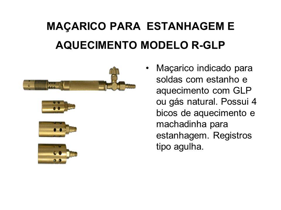 MAÇARICO PARA CORTE MODELO MC-300 Novo modelo, agora mais leve, com mistura de gases no cabeçote dianteiro com injetor. Construção robusta para corte