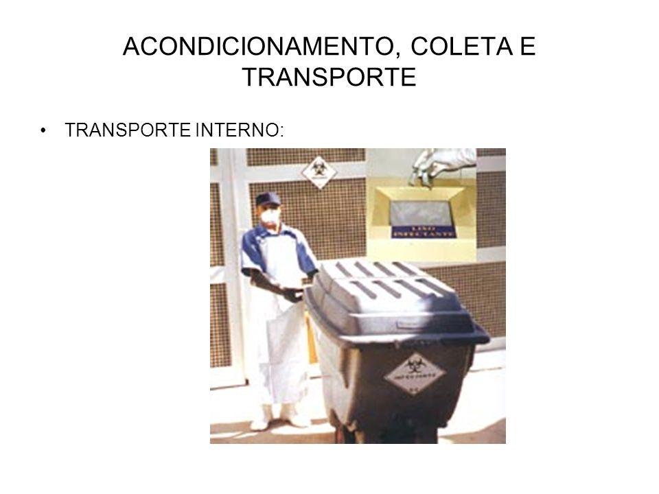TRANSPORTE INTERNO: