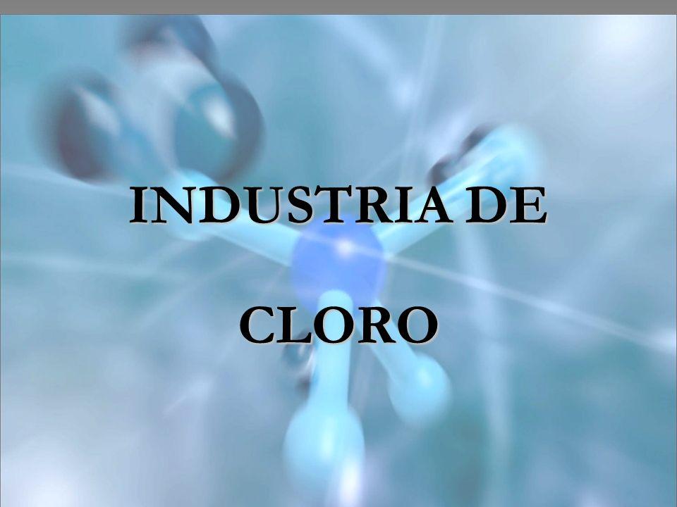Compostos: Hipoclorito de Sódio Encontra-se o Hipoclorito de sódio na industria como Alvejantes.