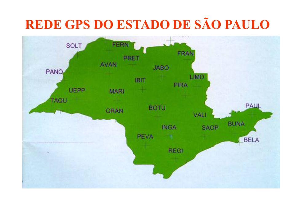 REDE GPS DO ESTADO DE SÃO PAULO