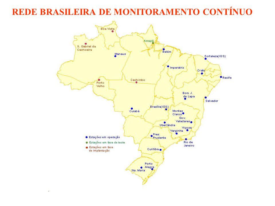 REDE BRASILEIRA DE MONITORAMENTO CONTÍNUO