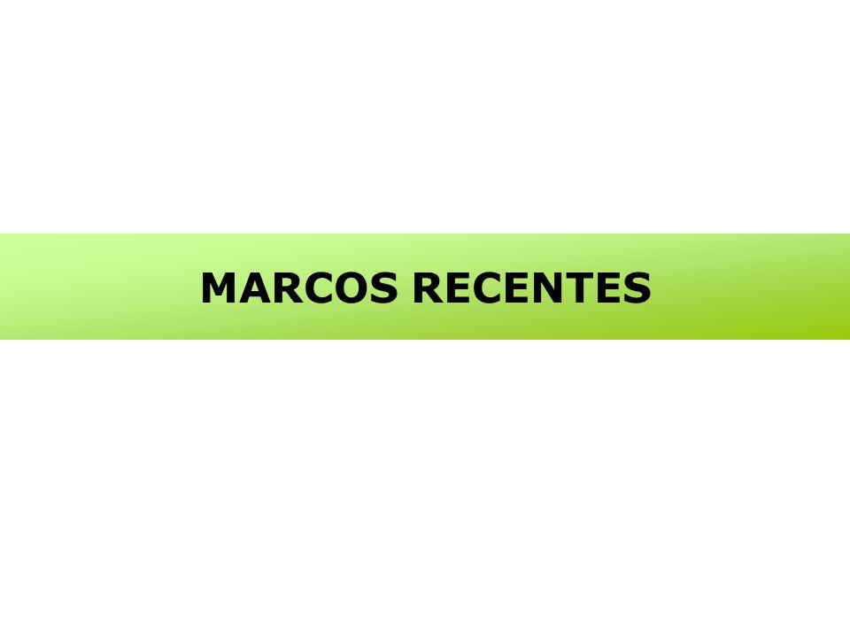 MARCOS RECENTES