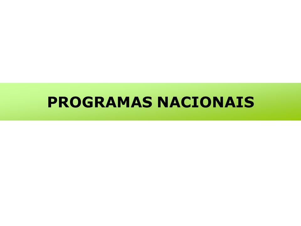 PROGRAMAS NACIONAIS