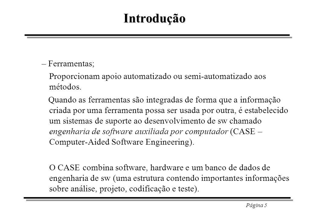 Página 6 Introdução – Procedimentos.