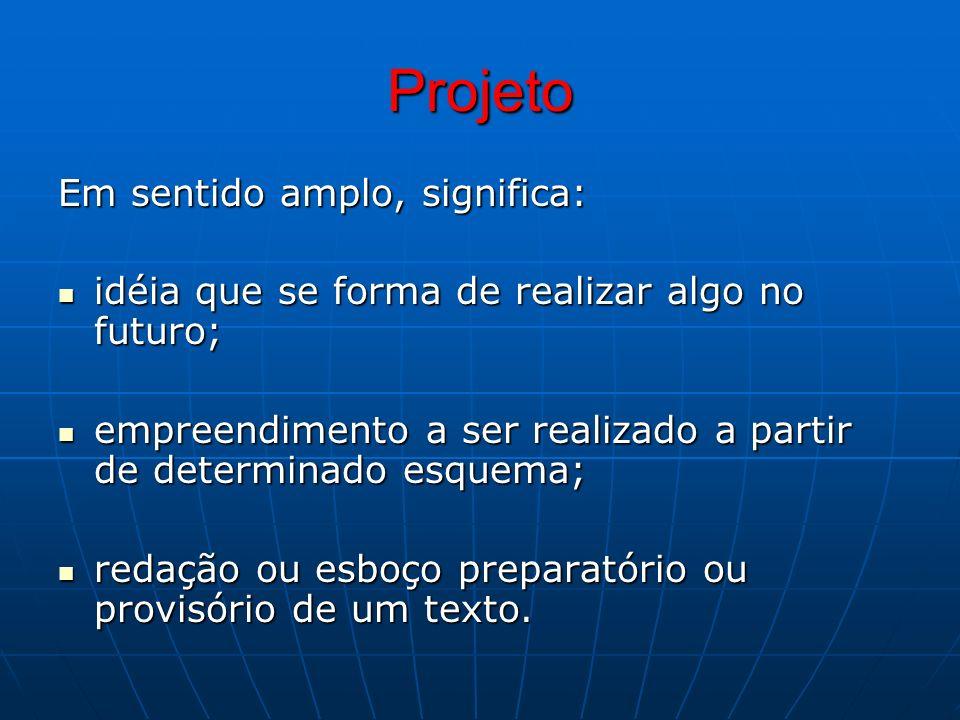 Para Ferreira (1983), o processo do planejamento implica em: a) Compreender a situação - organizar a visão que se tem da realidade vista como um todo (social, econômico...), b) Estabelecer o rumo – relacionar o conhecimento da situação atual com o resultado que se pretende alcançar,