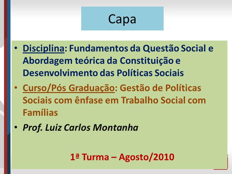 O Ponto de Partida O marco histórico da mundialização do capital é a recessão de 1974-1975, ocasionada pelas altas taxas inflacionárias, pelo aumento do preço do petróleo e pelo crescimento dos movimentos sociais com ideais socialistas.