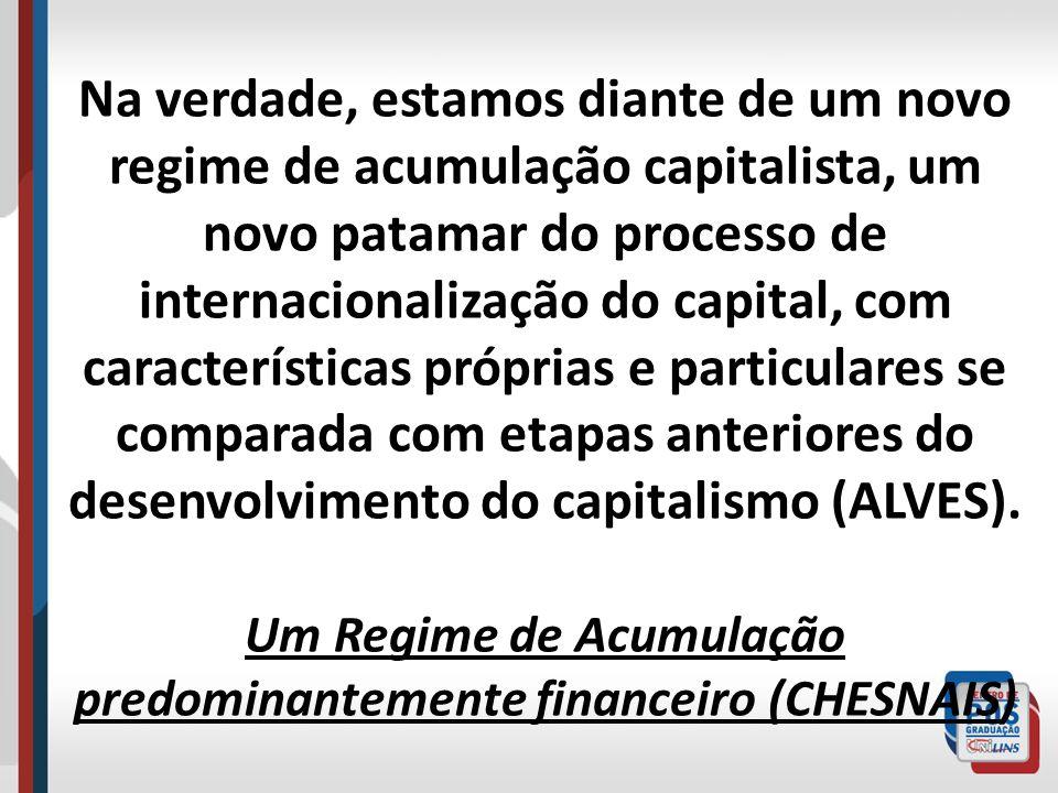 Traços da macroeconomia do capitalismo mundial na década de 1990 Taxas médias de crescimento do PIB muito baixas em todos os países capitalistas.