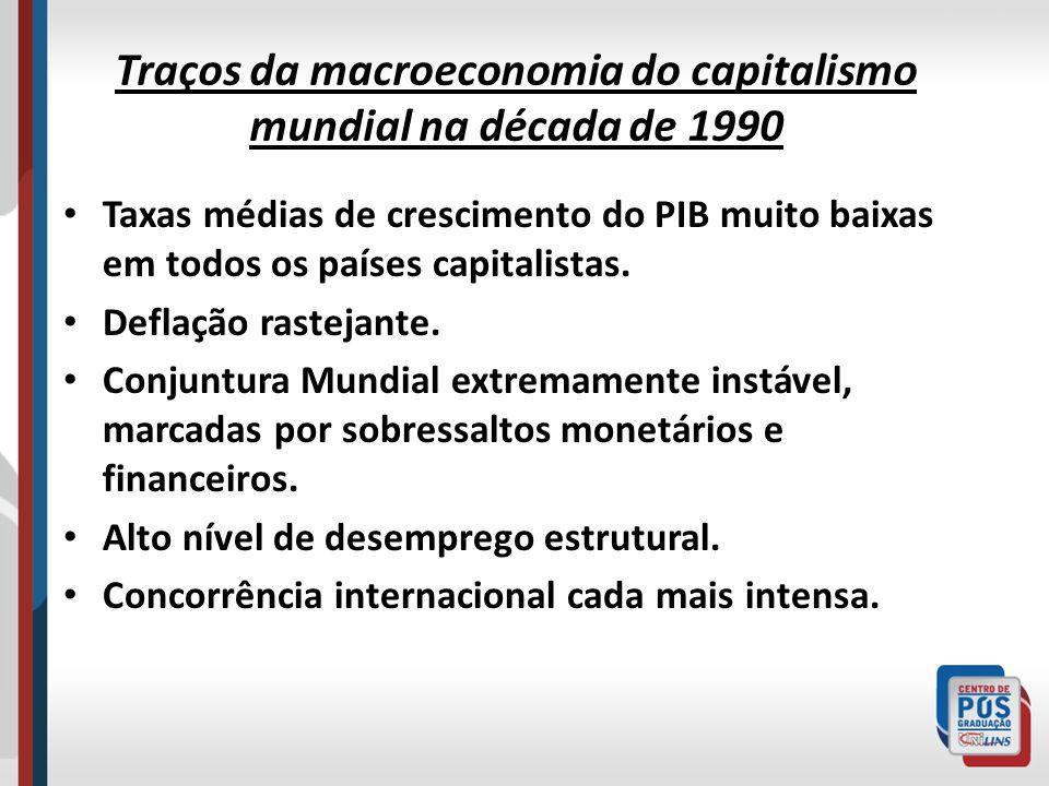 Características O novo regime de acumulação capitalista se caracteriza por estar subordinado às necessidades próprias das novas formas de centralização do capital-dinheiro, em particular os fundos mútuos de investimento e os fundos de pensão.