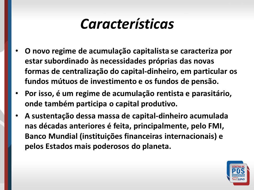 Contradições Estruturais A hegemonia neoliberal da década de 1980 nos países capitalistas centrais não foi capaz de resolver a crise do capitalismo nem alterou os índices de recessão e baixo crescimento econômico, conforme defendia.